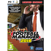 SEGA Football Manager 2016 Limited Edition, PC