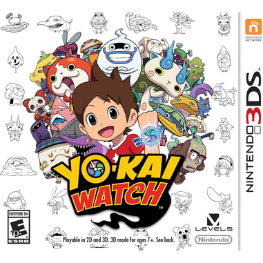 Nintendo Yo-Kai Watch special edition, 3DS