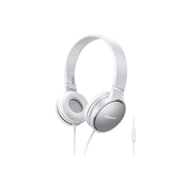 Panasonic RP-HF300ME-W Padiglione auricolare Stereofonico Cablato Grigio, Bianco