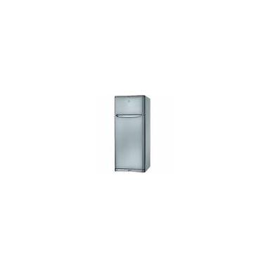 Indesit TEAAN5PS frigorifero con congelatore Libera installazione Argento 419 L
