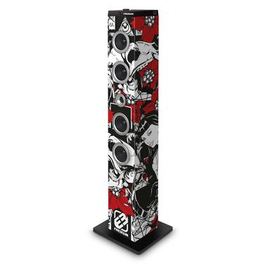 Bigben Interactive TW7FREEGUN2 set audio da casa Home audio tower system Nero, Rosso, Bianco 40 W