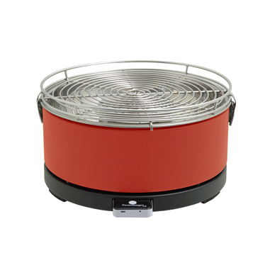 Feuerdesign Mayon Grill Da tavolo Antracite Rosso