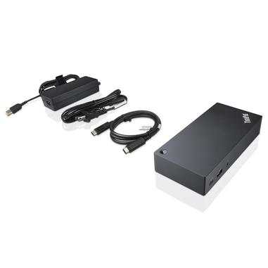 Lenovo 40A90090IT USB 3.0 (3.1 Gen 1) Type-C Nero replicatore di porte e docking station per notebook