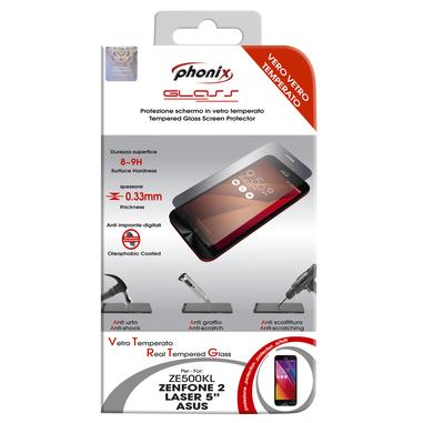Phonix Protezione in vetro temperato per Asus Zenfone 2 Laser 5