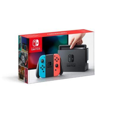 Nintendo Switch con Joy-Con Rosso Neon e Blu Neon
