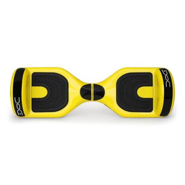 Nilox Doc hoverboard yellow 6.5 30NXBK65D2N03 10km/h 4300mAh Nero, Giallo