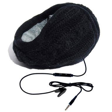 hi-Fun hi-Ear Padiglione auricolare Stereofonico Cablato Nero auricolare per telefono cellulare