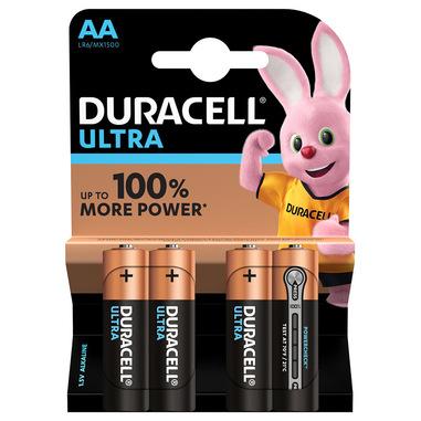 Duracell Ultra AA - Formato da 4