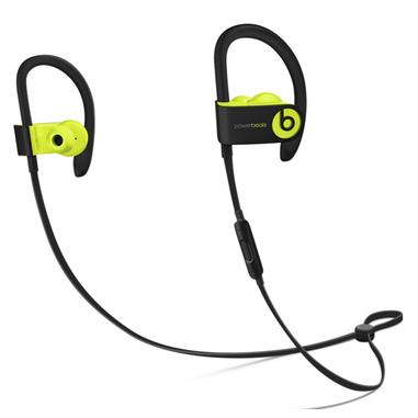 Beats Powerbeats3 Aggancio, Auricolare Stereofonico Senza fili Nero, Giallo auricolare per telefono cellulare