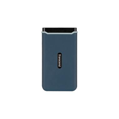 Transcend ESD350C 480 GB Blu, Blu marino