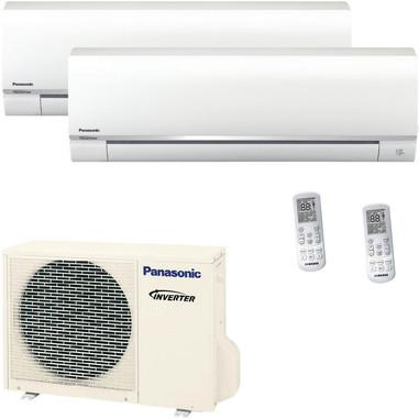 Panasonic CU2RE15SBE + CSTE25TKEW x 2 condizionatore d'aria dual split