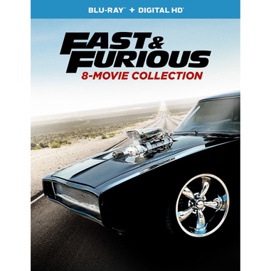 Fast & Furious 8-Movie Collection, Blu-ray 2D ITA