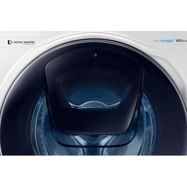 Samsung AddWash WW80K7405OW Libera installazione Caricamento frontale 8kg 1400Giri/min A+++ Bianco