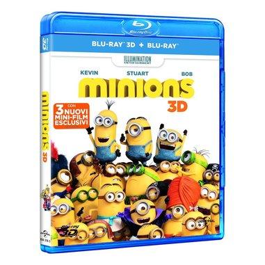 Minions (3D) (Blu-ray + Blu-ray 3D)