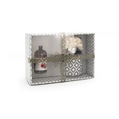 Joia Home Diffusore di essenza color grigio con fragranza melograno