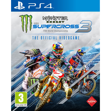 Monster Energy Supercross - The Official Videogame 3, PS4
