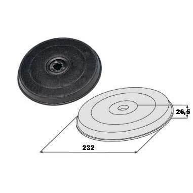 Faber filtro carbone attivo H20 cm per cappe | Cappe cucina in ...
