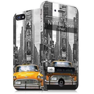 i-Paint NY Taxi + Skin Cover Multicolore
