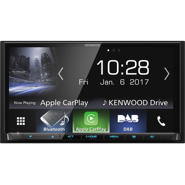 Kenwood Electronics DMX7017DABS 200W Bluetooth Nero autoradio