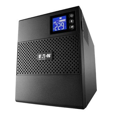 Eaton 5SC1000IR A linea interattiva 1000VA 8presa(e) AC Montaggio a rack Nero gruppo di continuità (UPS)
