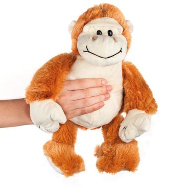 Macom Warmpuppies Boule a forma di scimmia riscaldabile in microonde
