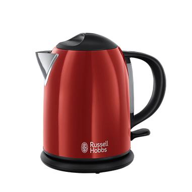 Russell Hobbs 20191-70 1L 2200W Nero, Rosso bollitore elettrico