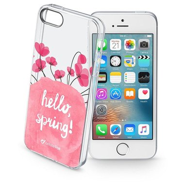 Cellularline Style Case Bloom - iPhone SE/5S/5