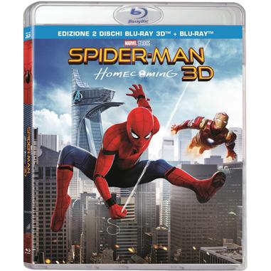 Spider-Man: Homecoming (Blu-Ray) 3D Blu-ray 2D+3D Inglese, ITA