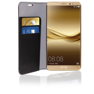 Phonix Custodia in eco-pelle per Huawei Ascend Mate 8 nera