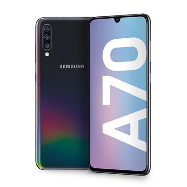 Samsung Galaxy A70 , Black, 6.7, Wi-Fi 5 (802.11ac)/LTE, 128GB