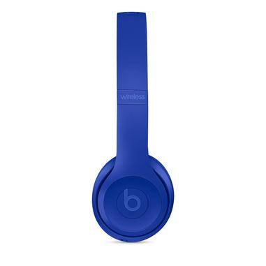Beats Solo3 Padiglione auricolare Stereofonico Con cavo e senza cavo Blu auricolare per telefono cellulare