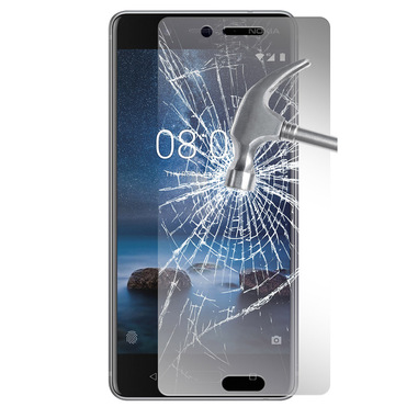 Phonix Tempered Glass Screen Protector per Nokia 8