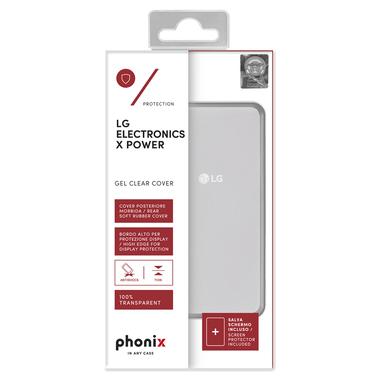 Phonix LGXPGPW Custodia Trasparente custodia per LG X Power