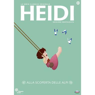 Heidi: Alla Scoperta delle Alpi Vol. 1 - Edizione Restaurata (DVD)