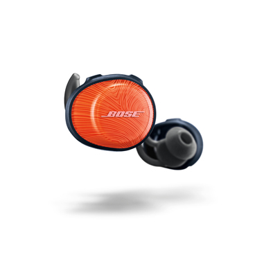 Bose SoundSport Free true wireless Nero, Blu marino, Arancione Intraurale