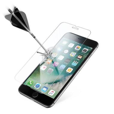 Cellularline Second Glass Ultra - iPhone 7 Plus Vetro temperato trasparente sottile, resistente e super sensibile Trasparente
