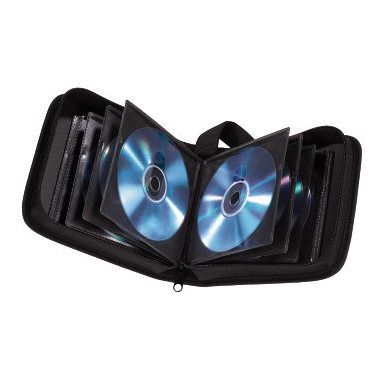 Hama 95645 32dischi Nero custodia CD/DVD