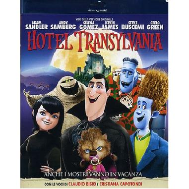 Hotel Transylvania, (Blu-Ray)
