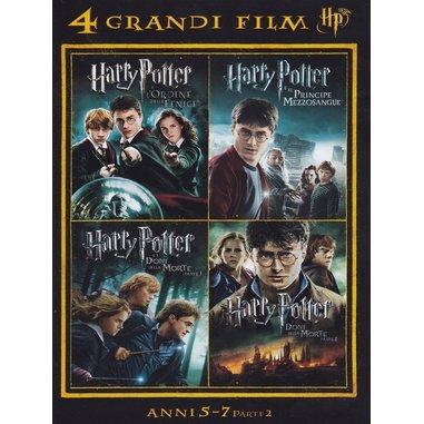4 grandi film - Harry Potter - anni 5-7 volume 2 (DVD)