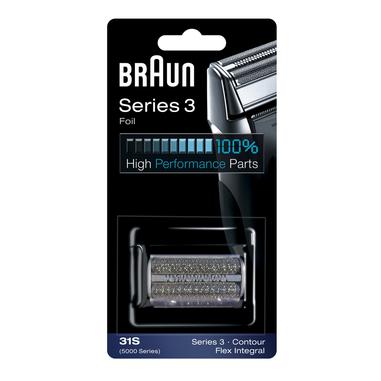 Braun 31S Ricambio rasoio serie 5000 silver