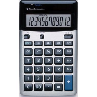 Texas Instruments TI-5018 SV Nero, Argento calcolatrice
