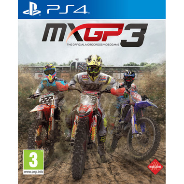 MXGP 3: The Official Motocross Videogame, PS4 Basico PlayStation 4 Inglese