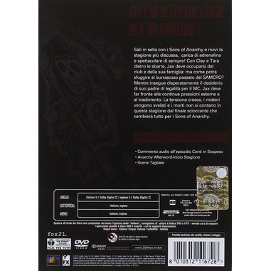 Sons Of Anarchy - Stagione 6 DVD