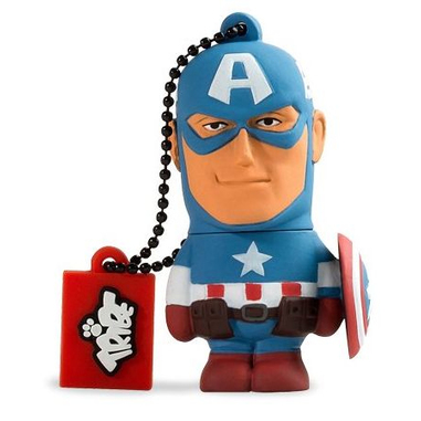 Tribe Captain America 8GB USB 2.0 pendrive