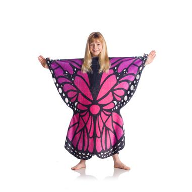 Kanguru Butterfly Kids coperta con maniche 80 x 90 cm Poliestere Multicolore