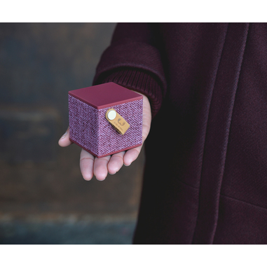 Fresh 'n Rebel Rockbox Cube Fabriq Edition - Concrete