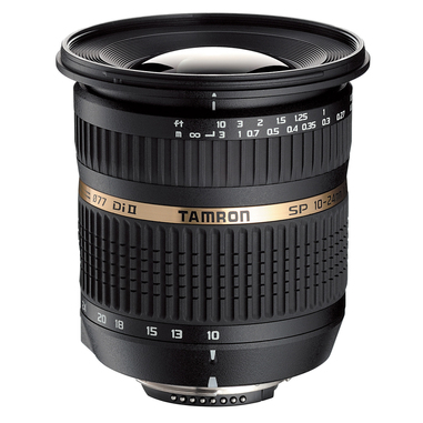 Tamron SP AF10-24mm F/3.5-4.5 Di II LD Aspherical [IF] SLR Obiettivo ultra-ampio compatibile Ninok, nero