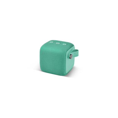Sitecom Rockbox Bold S Peppermint - Altoparlante Bluetooth Waterproof IPX7, verde acqua
