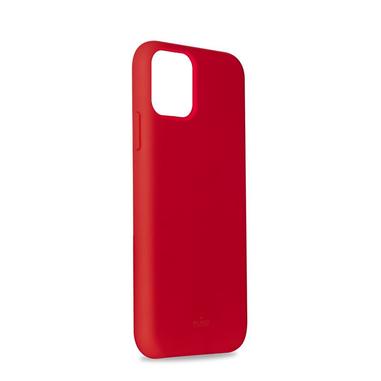"""PURO IPCX6519ICONRED custodia per iPhone 11 Max16,5 cm (6.5"""") Cover Rosso"""