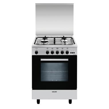 Glem A664VI Libera installazione Piano cottura a gas A Acciaio inossidabile cucina